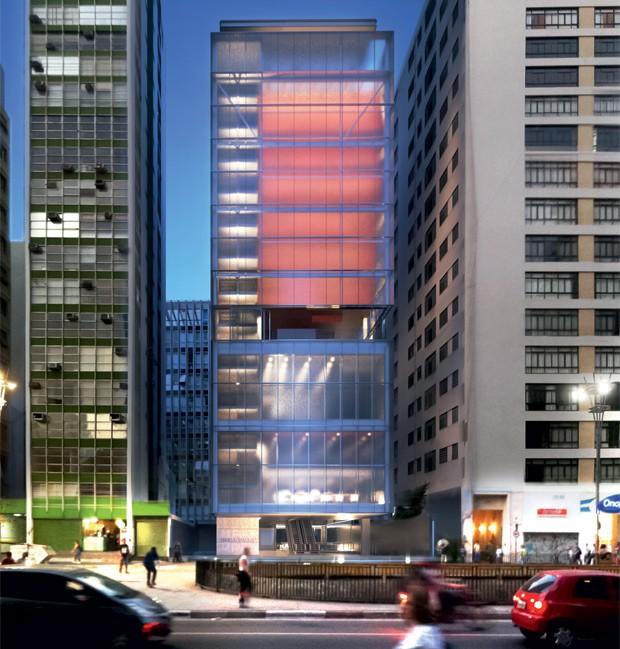 Futura sede do IMS em São Paulo (Foto: Divulgação)