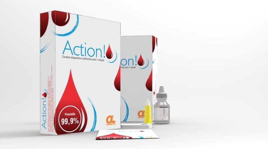 Teste, chamado Action, está próximo de ser vendido no Brasil (Foto: Divulgação)