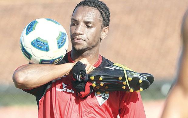 Anselmo, atacante do Atlético-GO (Foto: Wildes Barbosa/O Popular)