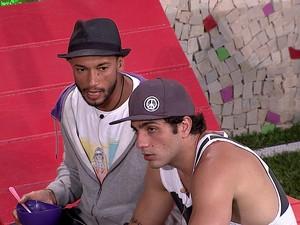 BBB às 20h31m do dia 18/01. (Foto: Big Brother Brasil)