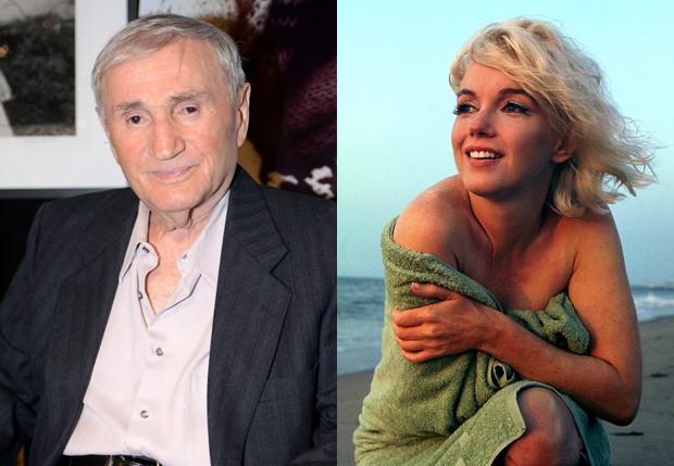 George Barris fez último ensaio de Marilyn Monroe (Foto: Getty Images e Reprodução/George Barris)
