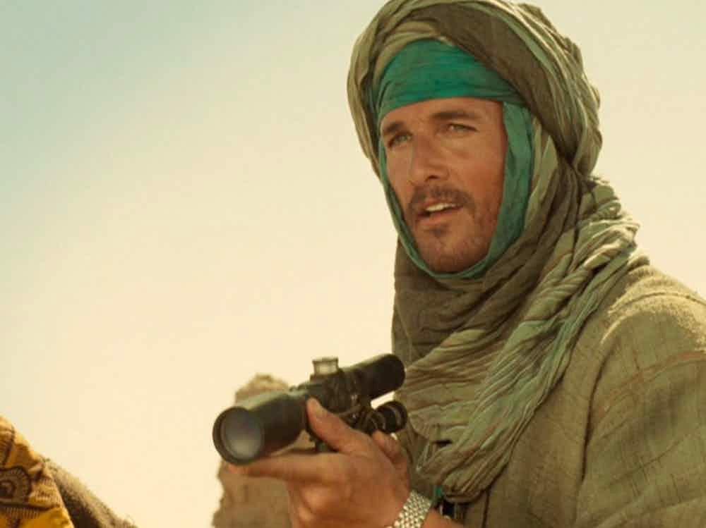 Matthew McConaughey – Sahara (2005) (Foto: Divulgação)