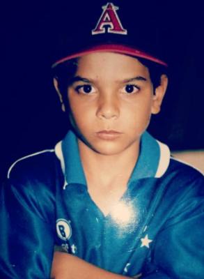 Paulo Borrachinha criança (Foto: Reprodução/Instagram)