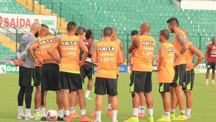 figueirense treino orlando scarpelli (Foto: Luiz Henrique / FFC)