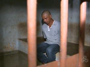 Suspeito José Ribamar Damas Nascimento (Foto: Reprodução/TV Amapá)
