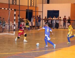 Falcão 12/Constelação faz 3 a 0 contra o Extremo Norte e vence o Campeonato Roraimense de Futsal Sub-10 (Foto: Reynesson Damasceno)