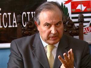O secretário Fernando Grella Vieira, em Campinas (Foto: Reprodução / EPTV)