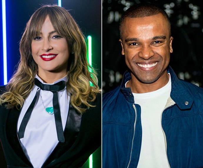 Alexandre Pires é o novo assistente de Claudia Leitte no 'The Voice'  (Foto: Isabella Pinheiro/Gshow)