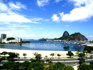 Foto do Rio de Janeiro, Praia de Botafogo (Foto: G1 InterTV RJ)