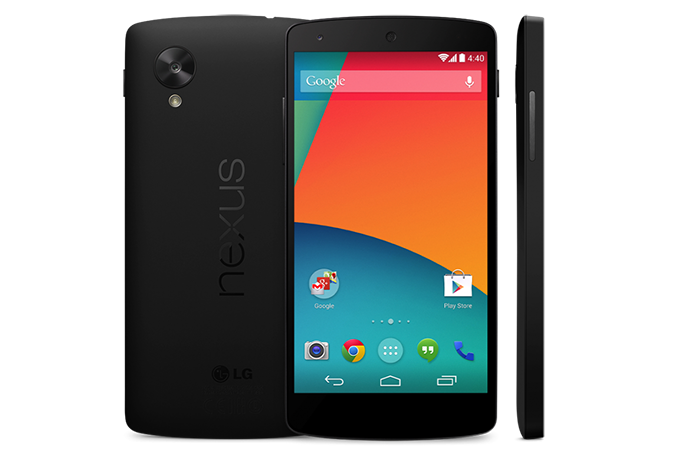 Nexus 5, de novo da LG, lançado em 2013 com Android 4.4 Kitkat (Foto: Divulgação)