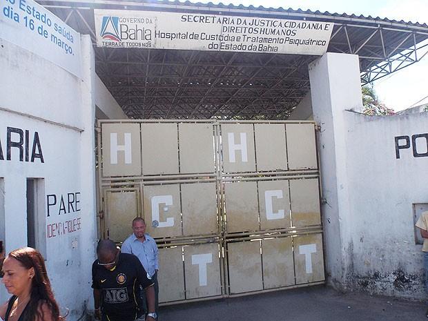 Hospital de Custódia (Foto: Lílian Marques/G1)