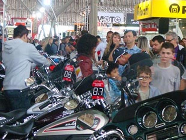 Salão da Motocicleta (Foto: Divulgação)