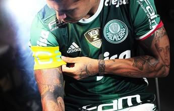Capitão, Dudu agradece confiança e celebra liderança no Palmeiras