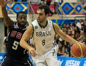 vitor benite brasil x eua basquete  Jogos Pan-americanos de Guadalajara (Foto: VIPCOMM)