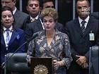 Dilma defende no Congresso a CPMF e reforma da Previdência