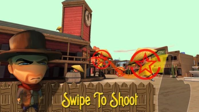 Sem dúvida, o jogo de tiro mais louco lançado para iPhone e iPad (Foto: Divulgação) (Foto: Sem dúvida, o jogo de tiro mais louco lançado para iPhone e iPad (Foto: Divulgação))