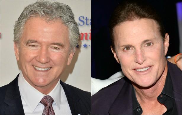 O ator Patrick Duffy e o ex-atleta olímpico Bruce Jenner, ex-marido de Kris Jenner, são de 1949. (Foto: Getty Images)