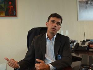 Superintendente da Infraero afirma que não houve pouso forçado  (Foto: Jorge Machado/G1)