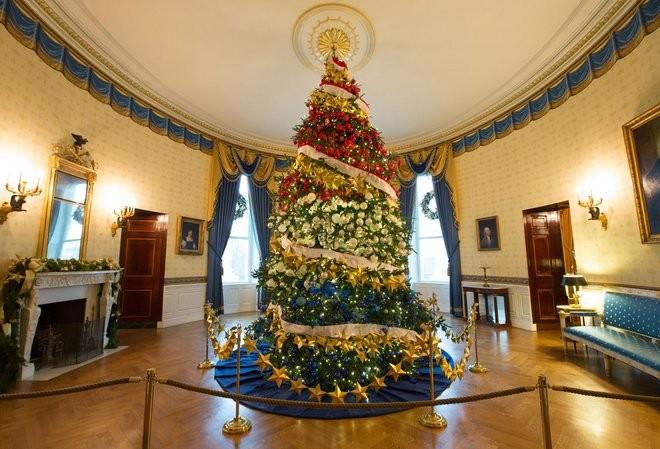 Michelle Obama apresenta decoração de Natal da Casa Branca ... Inside The White House Bedrooms 2017
