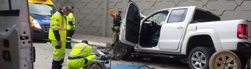Acidente deixa 3 mortos na BR-101, em Palhoça (Arcanjo/Divulgação)