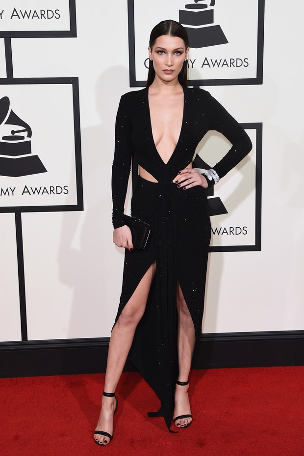 Grammy Awards 2016 - Bella Hadid (Foto: Getty Images)