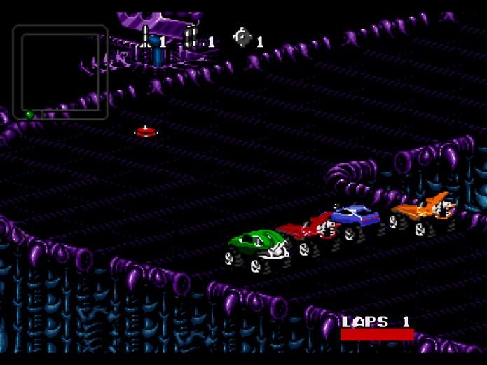 Rock n Roll Racing (Foto: Reprodução/Mega Files)