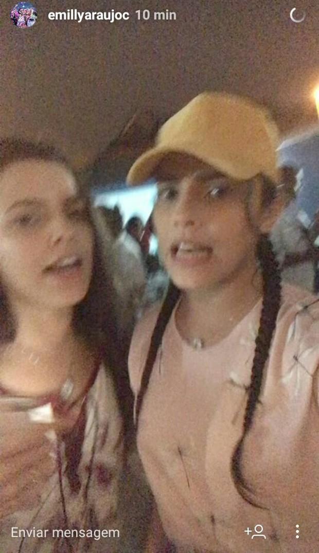 Emily e Valesca (Foto: Reprodução)