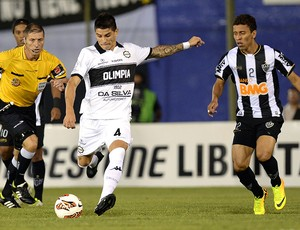 Marcos Rocha Atlético-MG decisão Libertadores Olimpia (Foto: AFP)