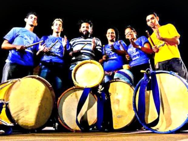 Grupo Tambor de Fulor oferece oficina de percussão para surdos (Foto: Divulgação)