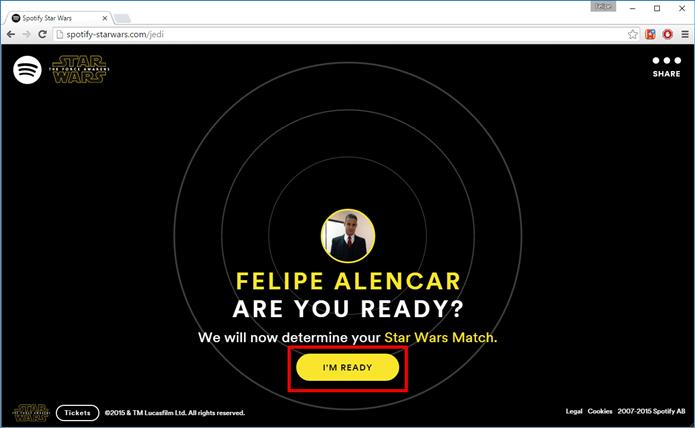 Clique em Im Ready (Foto: Felipe Alencar/TechTudo)