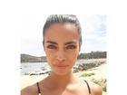 Joana Sanz, namorada de Daniel Alves, mostra 'fartura' de biquíni