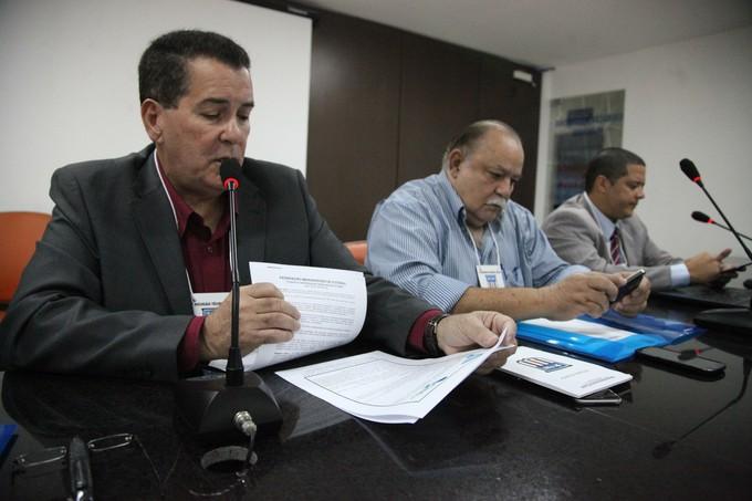 Antônio Américo - presidente Federação maranhense de futebol (Foto: Flora Dolores / O Estado)