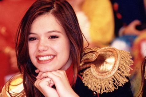Graziella Schmitt estreou como paquita, em 1995 (Foto: Arquivo)