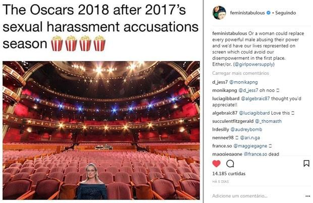 Após denúncias de assédio, a indústria cinematográfica precisa rever seus conceitos (urgente) (Foto: Reprodução Instagram)