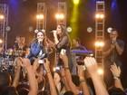 Ivete Sangalo participa do show de Alinne Rosa em Salvador