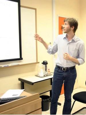 Rodrigou apresentou tese sobre impostos de alimentos com alto teor de gordura saturada em mestrado na USP (Foto: Divulgação/Arquivo Pessoal)
