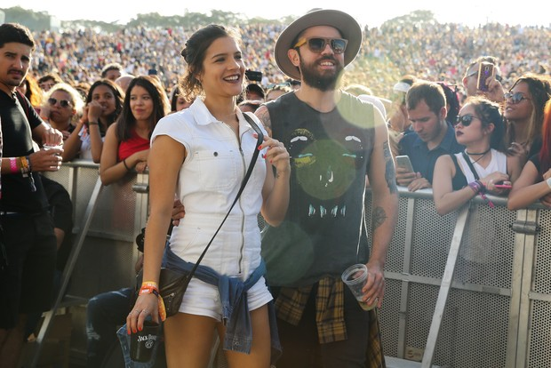 Marcella Barra e Mateus (Foto: Iwi Onodera e Manuela Scarpa/Brazil News)