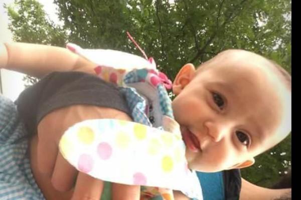 A pequena Zayla (Foto: Reprodução / GoFundMe )