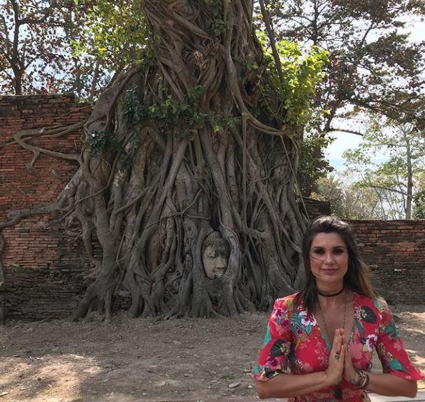 Flavia Alessandra e Otaviano Costa viajam para a Tailândia em família (Foto: Reprodução/Instagram)
