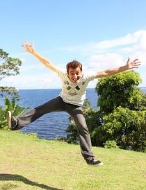 Moacyr Massulo é o novo apresentador do Zappeando (Foto: Katiúscia Monteiro/ Rede Amazônica)