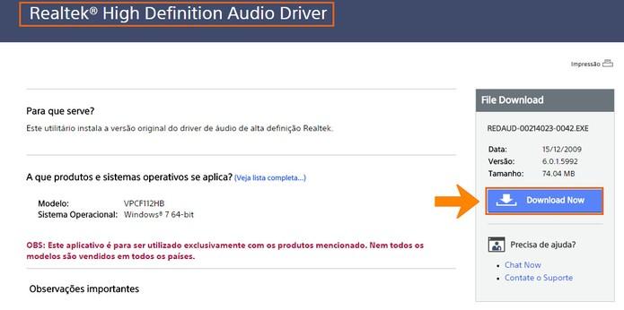 Faça o download do drive para o computador (Foto: Reprodução/Barbara Mannara)