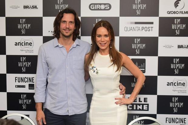 Mariana Ximenes e Vladimir Brichta (Foto: Leo Franco / AgNews)