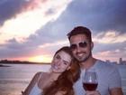 'Estou calma e Latino está uma pilha', diz Rayanne Morais no dia do casório