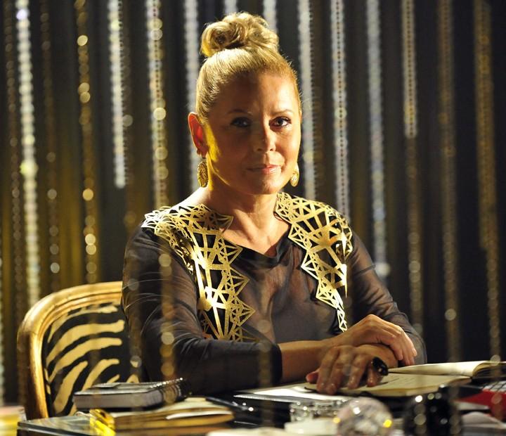 Em 'Salve Jorge', Vera Fischer interpretava Irina (Foto: Alex Carvalho / TV Globo)