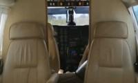 VÍDEO mostra interior do avião após pouso (Reprodução/GloboNews)