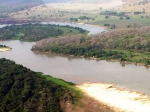 Hidrovia em Mato Grosso (Foto: Divulgação/Secretaria de Logística de MT)