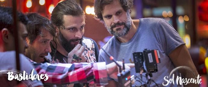 Bastidores Sol Nascente (Foto: Raphael Dias/Gshow)