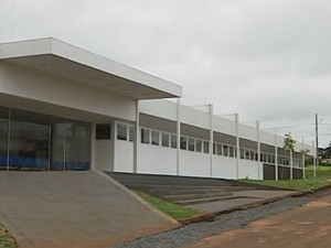 Fachada da UPA em Patos de Minas (Foto: Reprodução / TV Integração)