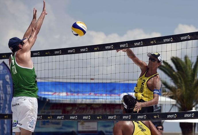 Ricardo Emanuel Grand Slam São Petersburgo EUA (Foto: Divulgação/FIVB)
