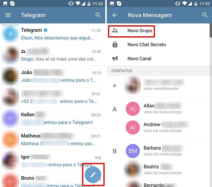 como mandar o link de um grupo no whatsapp
